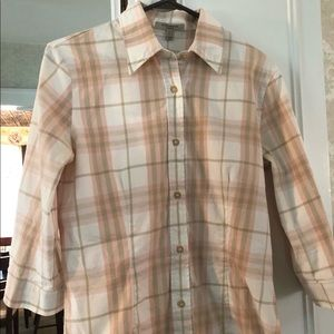 Burberry- 3/4 sleeve shirt